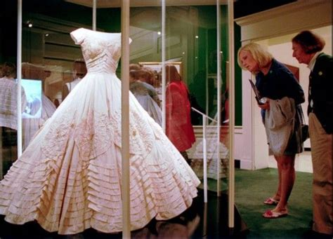 Jackies Wedding Gown Worn At Her Wedding To Jack Kennedy