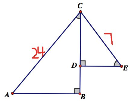 Math Geometry Diagram by Math Olympiad Geometry Question Similar Triangles
