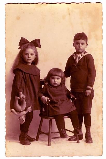 Children Three Printable Victorian Antique 1800 Photographs