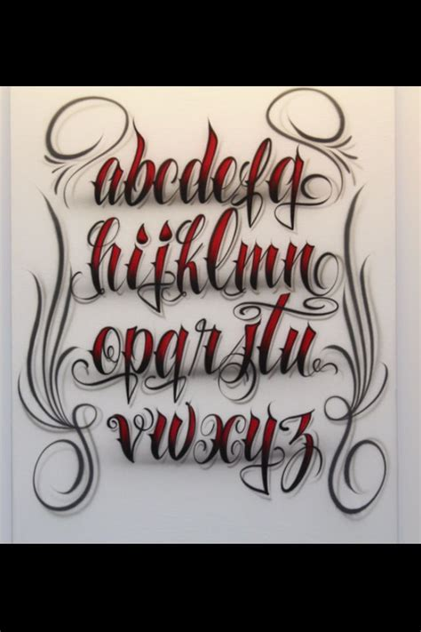 cool lettering for tattoos lettering fonts elaxsir 28655