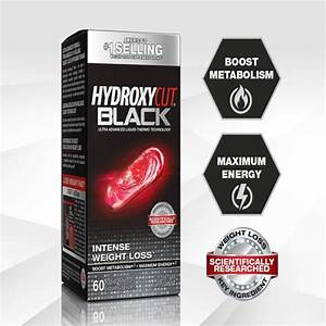 Black  Weight Loss And Thermogenic Supplement For Men And Women  60 Rapid