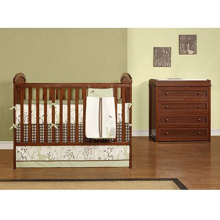 Baby Relax  My First Nursery Crib & Changing Table