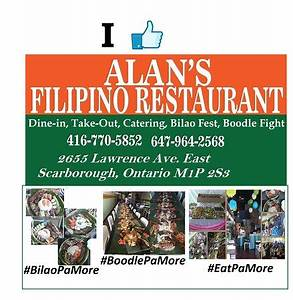 Alan's Filipino Restaurant is located at the heart of ...