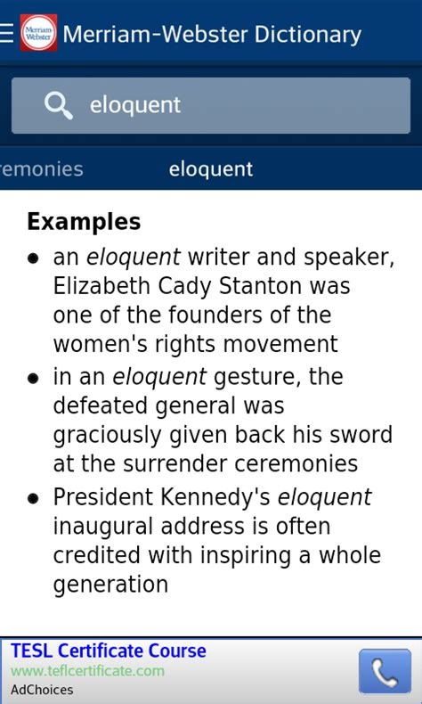 dictionary merriam webster amazoncomau appstore