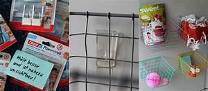 Tesa Bilder Aufhängen : k rbe aufh ngen mit tesa transparent haken kreativfieber ~ Orissabook.com Haus und Dekorationen