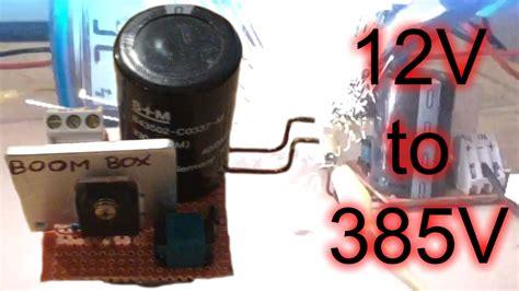 mega boost converter    dc huge sparks