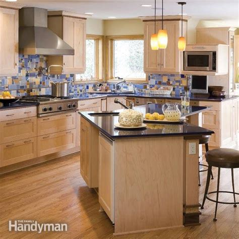 kitchen remodeling ideas  tips  family handyman