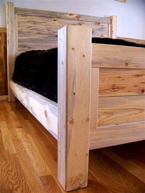 beetle kill pine queen bed diy pinterest bedrooms pine  queen beds