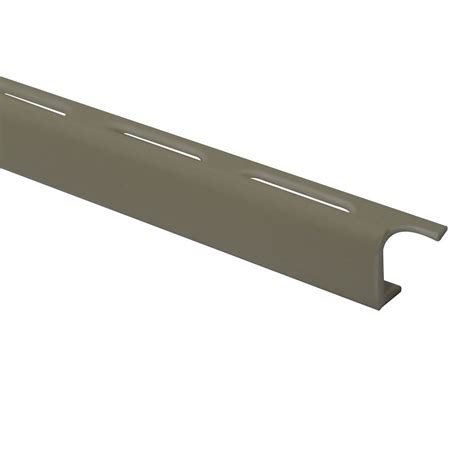 vinyl flooring edge trim shur trim vinyl tile edge 3 8 inch 10mm 8foot bone pack of 50 the home depot canada