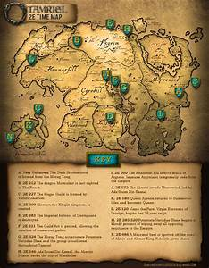 Elder Scrolls Online 2E Tamriel Map Guide Information