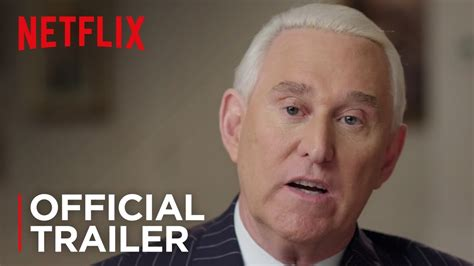 Get Me Roger Stone Get Me Roger Stone Official Trailer Hd Netflix Youtube