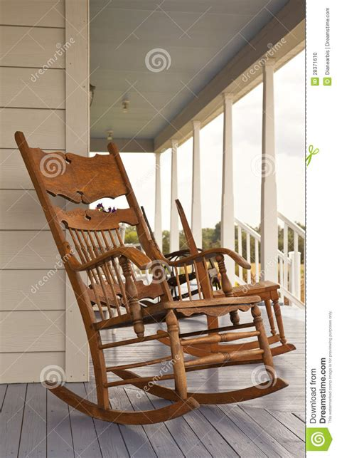 vintage rocking chair stock photo image 28371610