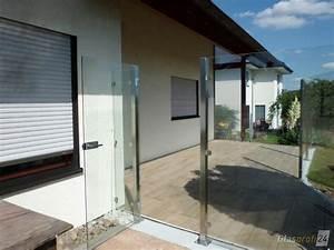 Garagenrolltor Mit Tür : sichtschutz aus glas f r den garten glasprofi24 ~ Frokenaadalensverden.com Haus und Dekorationen
