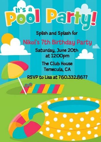 Pool Birthday Party Invitations  For Pool Party Invitations. Sample Of Christening Invitation Template Girl. Project Management To Do List Template. Talent Acquisition Cover Letter Template. Volunteer Appreciation Certificates Free Templates. What Is An Itemized Bill Template. Internship Cover Letter Example With No Experience Template. Itt Tech Student Portal Template. October 2018 Calendar Printable Template