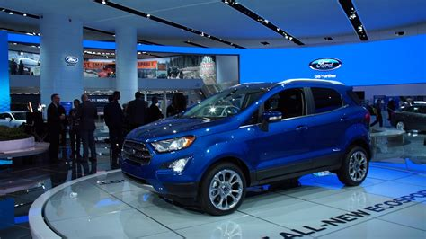 2018 Ford Ecosport Configurations by Preview 2018 Ford Ecosport Suv Consumer Reports
