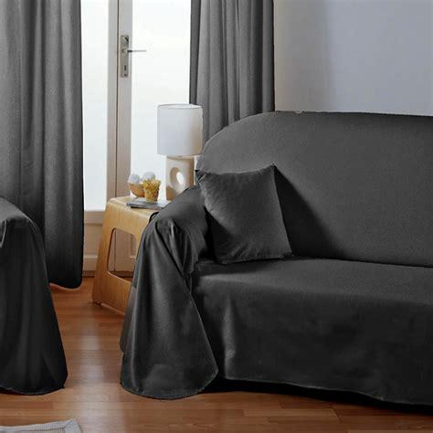 drap canapé jeté de canapé et plaids le confort de votre canapé