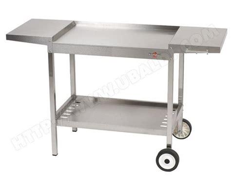 accessoire meuble cuisine krampouz chariot inox plein air khea04 pas cher