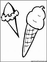 Ice Cream Sandwich Template Coloring sketch template