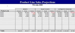 price line sales projection template forecasts template With sales projection template free download