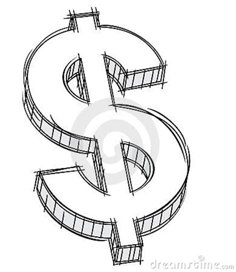 Doodle Of Money Sign Stock Photography  Image 22063672
