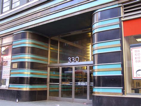 york city art deco streamline moderne buildings