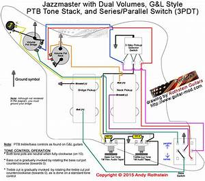 Rothstein Guitars  U2022 Jazzmaster Wiring Series  Parallel