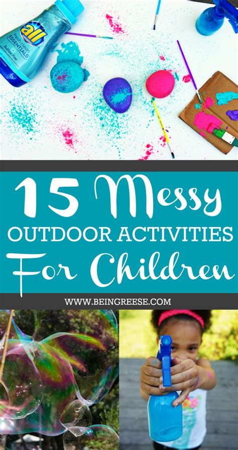 15 summer activities for toddlers and preschoolers 214 | 15%2BMessy%2BSummer%2BActivities%2Bfor%2BKids%2B