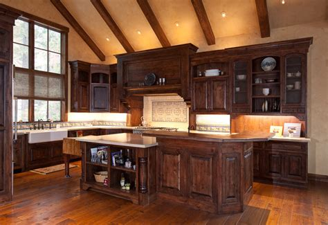 kitchen with accessories wood flooring rustic kitchen sacramento by nor cal 6545