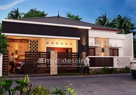 desain rumah minimalis  lantai bu dyah multidesain arsitek