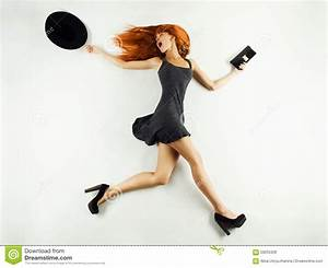 Running Woman Stock Photo - Image: 59255328