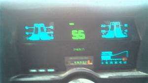 1989 Chevy S10 Digital Dash On The Hwy