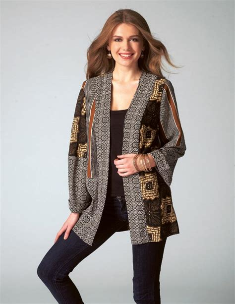 patchwork kimono jacket pattern