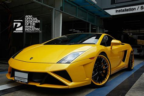 2018 Lamborghini Gallardo On Adv1 Wheels Pic2