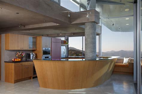 wing house modern kitchen los angeles  david