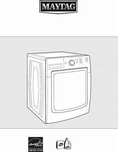 User Manual Maytag Mhw5100dw Maxima  48 Pages