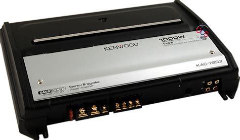 Kenwood Kac7203 Product Ratings And Reviews At