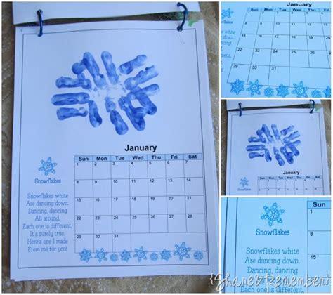 handprint calendar template printable parker print calendar