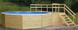 Pool Mit Holz : hochwertige holzpools kaufen sie bei uns poolzon ~ Orissabook.com Haus und Dekorationen