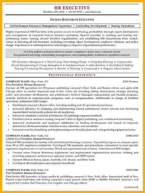 hr manager resume top human resources resume templates