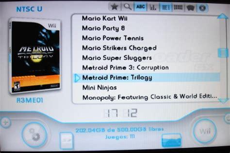 Descargar los archivos de instalación. Ultimate USB Loader GX   Wii.SceneBeta.com