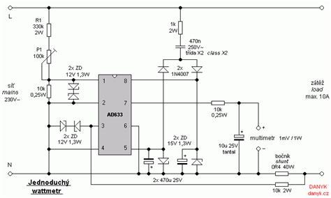 Wattmeter Simple Power Meter