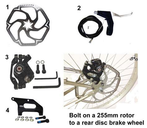 mountain bike oversize disc brake rotor kit mm rear