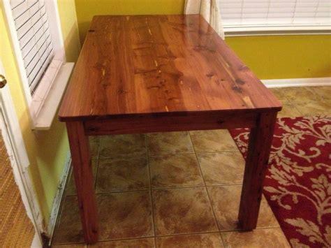 red heart cedar table  woodside  lumberjockscom