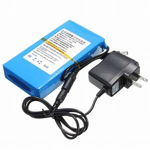 Li Ion Akku Ladegerät : wiederaufladbare lithium li ion akku batterie ladeger t dc 12v 8000mah stecker ebay ~ Orissabook.com Haus und Dekorationen