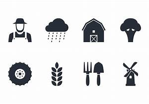 Farm Icon Set - Download Free Vector Art, Stock Graphics ...