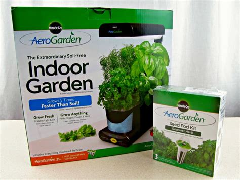 grow lights for indoor plants walmart aerogarden a gift for the green thumb on your