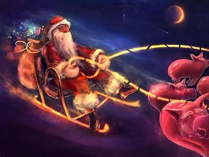 Christmas Wallpapers Santa Funny Amazing Holiday Desktop