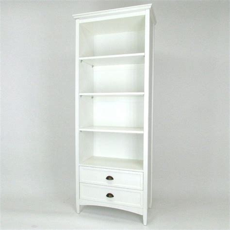 white bookcase with drawers 3 shelf bookcase with drawers in white 9123w