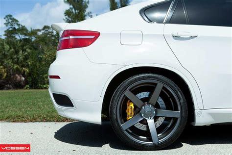 modified bmw   vossen concave wheels video