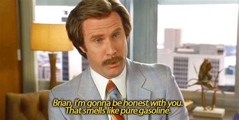 anchorman i l quote i m gonna be honest with you gifs
